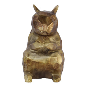 Moe's Home Collection FI-1064-53 Golden Squirrel Sculpture