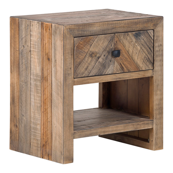 Teigen Nightstand Reclaimed Wood