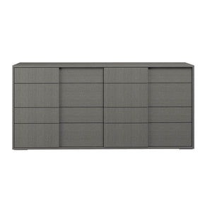 Star International Furniture 2176.MGO Forte Double Dresser Matte Grey Oak Eco Veneer