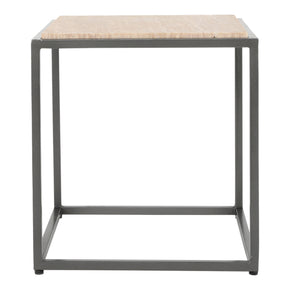 Moe's Home Collection GK-1004-14 Winslow Marble Side Table Cappuccino