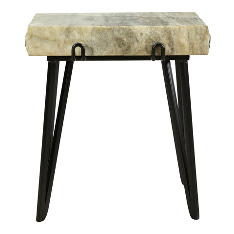 Moe's Home Collection IK-1011-21 Alpert Accent Table Sand