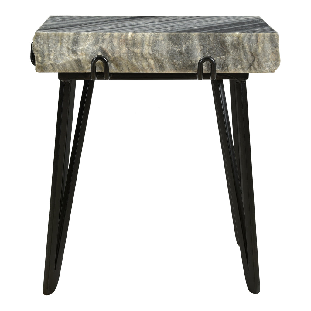 Moe's Home Collection IK-1011-25 Alpert Accent Table Grey
