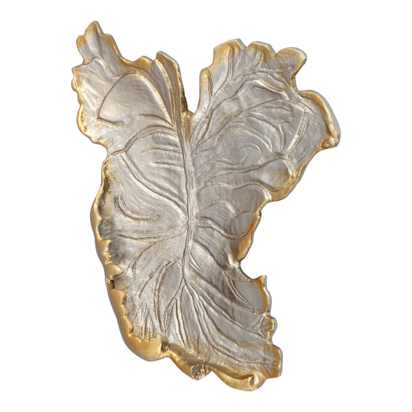 Moe's Home Collection IX-1059-44 Champagne Leaf Tray