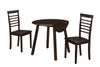Dining Set - 3Pcs Set / Cappuccino 36
