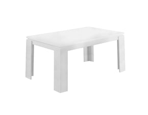 "Monarch Specialties I 1056 Dining Table - 36""X 60"" / White  878218000231"