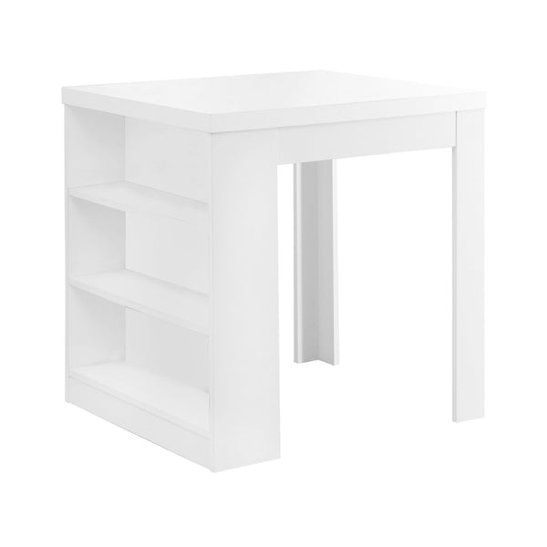 "Monarch Specialties I 1345 Dining Table - 32""X 36"" / White Counter Height 021032288587"