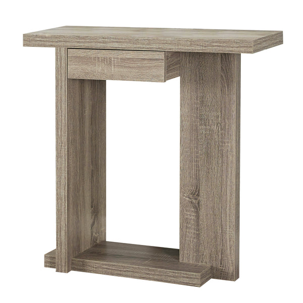"Monarch Specialties I 2459 Accent Table - 32""L / Dark Taupe Hall Console  878218000408"