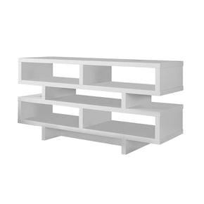 "Monarch Specialties I 2461 Tv Stand - 48""L / White  878218000422"