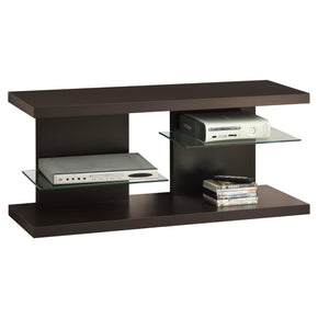 "Monarch Specialties I 2555 Tv Stand - 48""L / Cappuccino 021032288624"