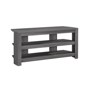 "Monarch Specialties I 2566 Tv Stand - 42""L / Grey Corner 878218006271"