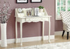 "Desk - 36""L / Antique White Traditional"