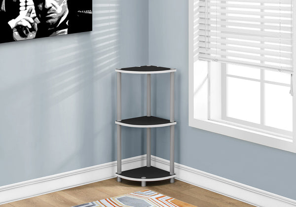 "Accent Table - 30""H / White Or Black Reversible"