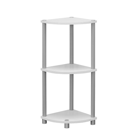"Monarch Specialties I 3138 Accent Table - 30""H / White Or Black Reversible 878218006363"