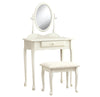 Monarch Specialties I 3412 Vanity Set - 2Pcs Set / Antique White  021032284893