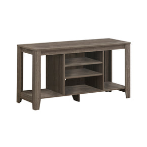 "Monarch Specialties I 3528 Tv Stand - 48""L / Dark Taupe  878218001191"