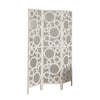 Folding Screen - 3 Panel / White Frame