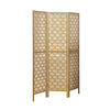 Folding Screen - 3 Panel / Gold Frame