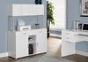 "Office Cabinet - 48""L / White Storage Credenza"