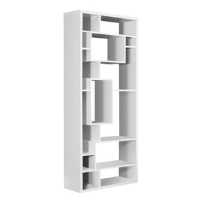 "Monarch Specialties I 7071 Bookcase - 72""H / White  878218001344"