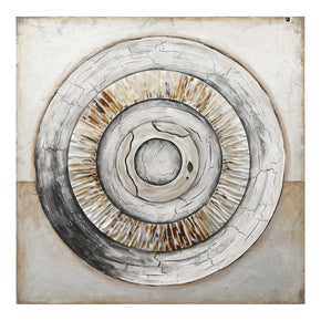 Moe's Home Collection JQ-1006-05 Ancient Rings Wall Decor