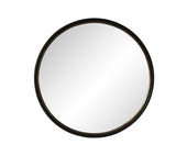 Moe's Home Collection KK-1001-02 Sax Round Mirror Black