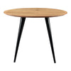 Placido Mid-century Modern Round Dining Table