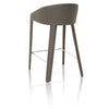 Logan Counterstool Shadow Bonded Leather, Shadow Edge