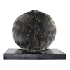 Iron Orb Black Marble