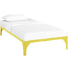 Beds - Modway MOD-5430-YLW Ollie Twin Bed Frame | 889654052500 | Only $95.00. Buy today at http://www.contemporaryfurniturewarehouse.com
