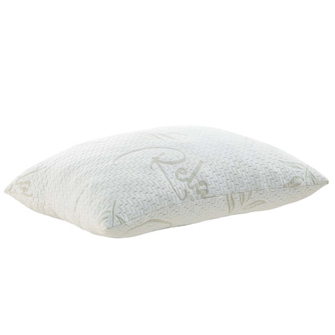 Modway MOD-5575-WHI Relax Standard/Queen Size Pillow White