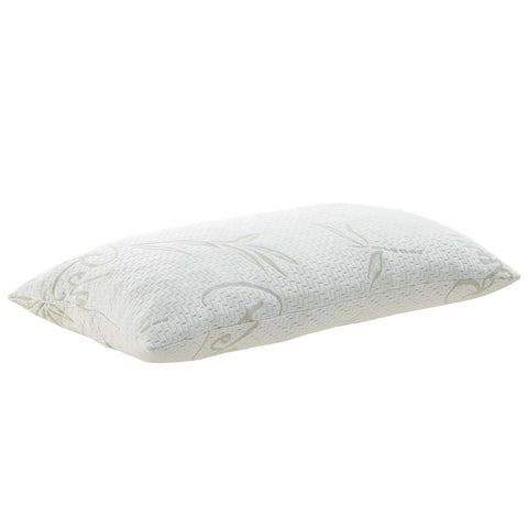 Modway MOD-5576-WHI Relax King Size Pillow White