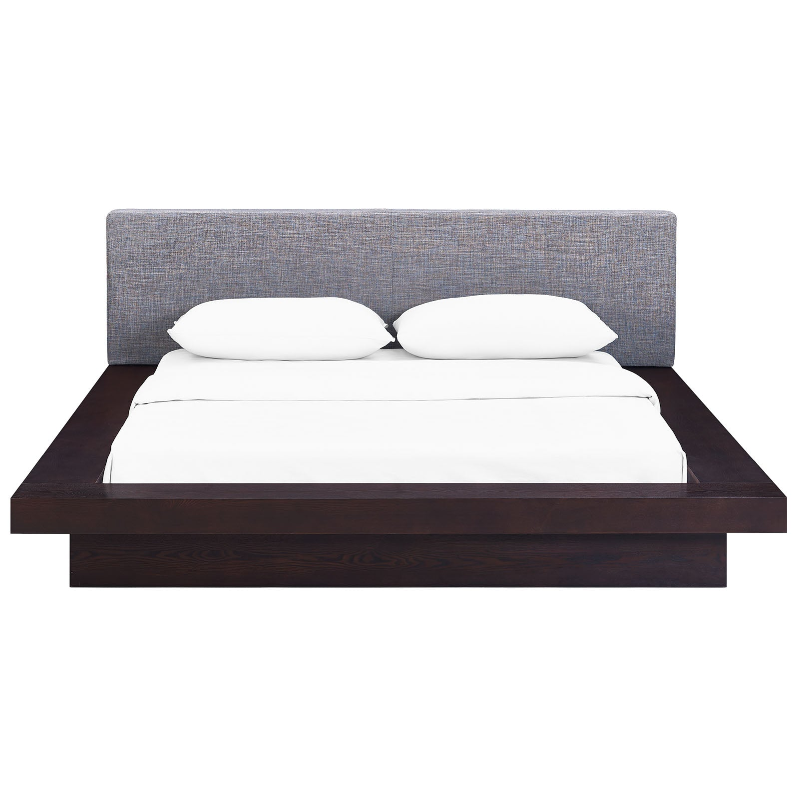 Freja Queen Fabric Platform Bed By Modway Mod 5721 Wal