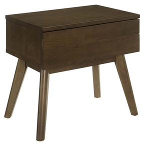 Modway MOD-6069-WAL Everly Wood Nightstand Walnut