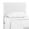 Modway MOD-6094-WHI Keira Twin Faux Leather Headboard White