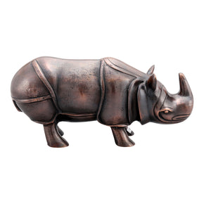 Moe's Home Collection NM-1037-31 Rhino Table Top Decor Antique Bronze