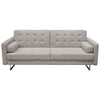 Opus Convertible Tufted Sofa with Chair 2PC Set in Barley Fabric
