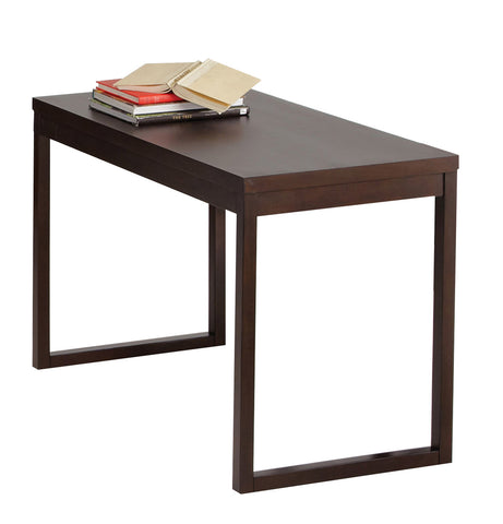 Progressive Furniture P109T-71 Athena Transitional Writing Desk Dark Chocolate
