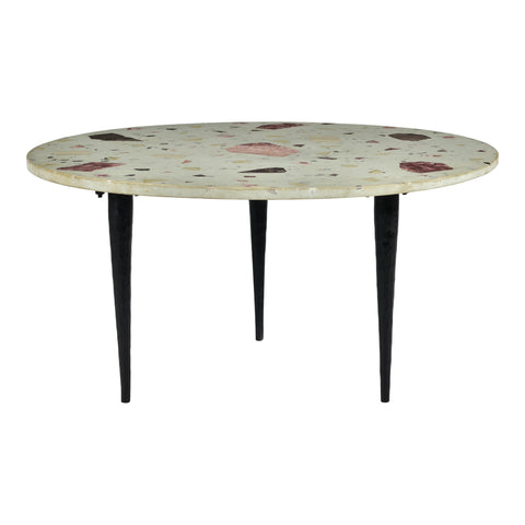 Moe's Home Collection QJ-1013-37 Menta Terrazzo Coffee Table