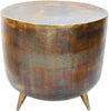 Kettel Accent Table Brass Contemporary Modern Brass