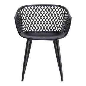 Outdoor Dining Chairs - Moes Home Collection QX-1001-02 Piazza Contemporary Modern Outdoor Chair Black (Set of 2) | 849043091480 | Only $218.00. Buy today at http://www.contemporaryfurniturewarehouse.com