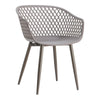 Piazza Contemporary Modern Outdoor Chair Grey (Set Of 2)