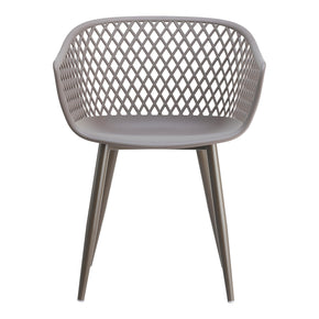 Moeu0027s Home Collection QX 1001 15 Piazza Outdoor Chair Grey Set Of Two