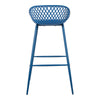 Piazza Outdoor Bar Stool Blue-Set Of Two