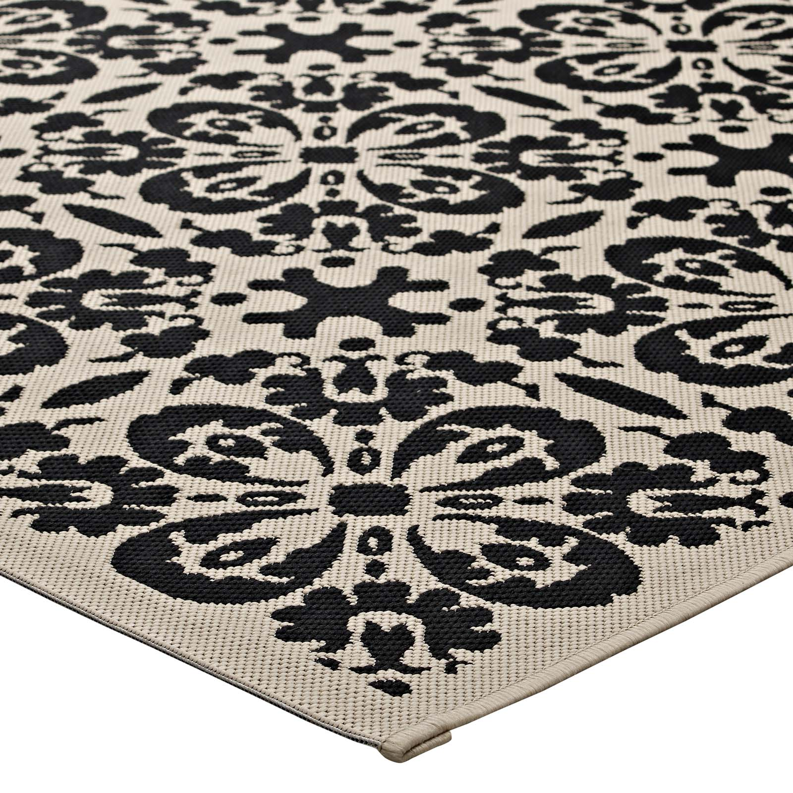 Outdoor 5x8 Area Rug: Modway Rugs On Sale. R-1142A-58 Ariana Vintage Floral