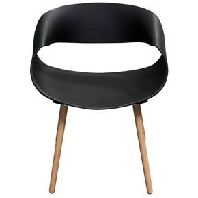 Black Lacquer Dining Chairs At Contemporary Furniture