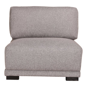 Moe's Home Collection RN-1115-29 Romeo Slipper Chair Grey