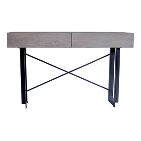 Moe's Home Collection SR-1019-29 Tiburon Console Table Pale Grey