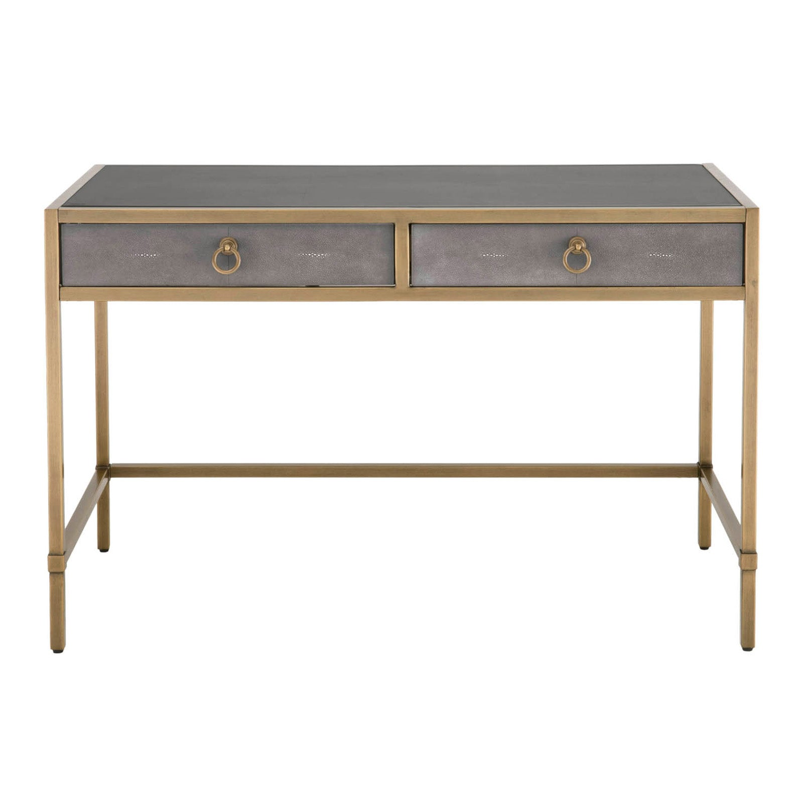 refinery shaped desk writing industrial l with rustic return mobile cabinet and gray htm file