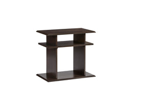 Progressive Furniture T474-29 Xanadu Contemporary Chairside Table Dark Espresso