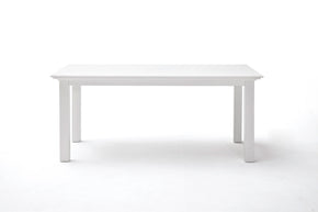 Halifax French Countryside Dining Table White semi-gloss 71""